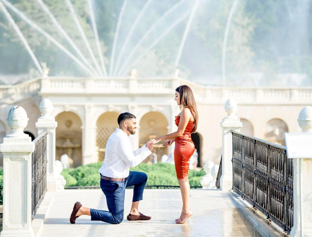 Surprise Proposal & Engagement