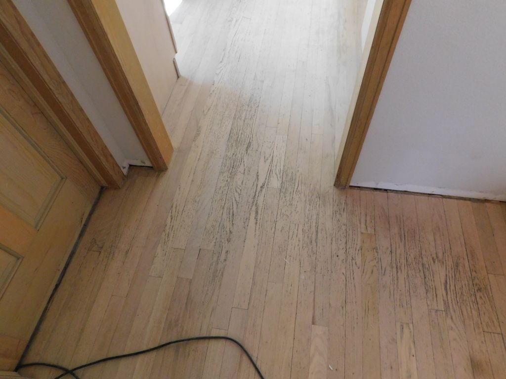 Floor install and refinish, stairs