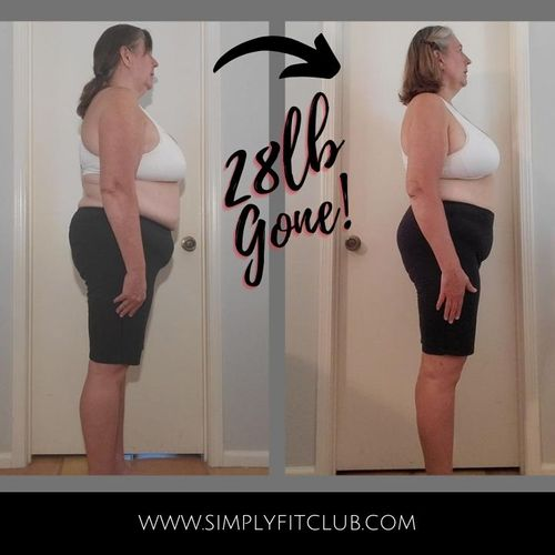 Tammy is 13 weeks into her journey and has lost 28lbs and gained more energy, happiness and confidence!