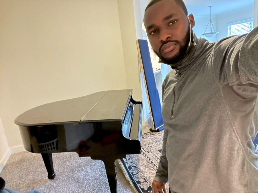 Baby grand Piano move Houston Tx to Sealy Tx