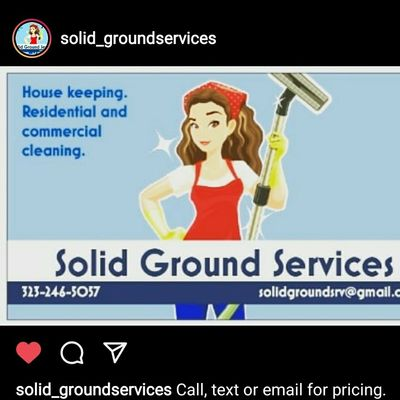 Avatar for Solid Grounds services