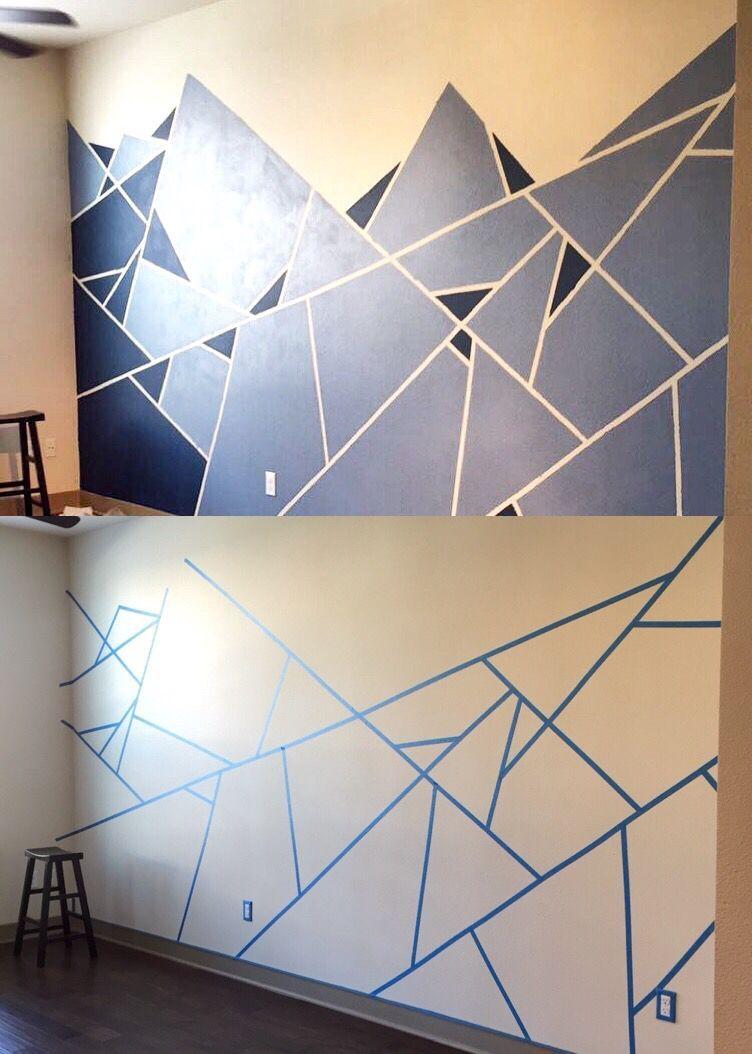 Geometric Tile Walls