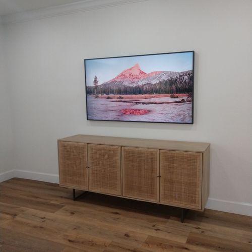 "65"" Samsung Frame TV"