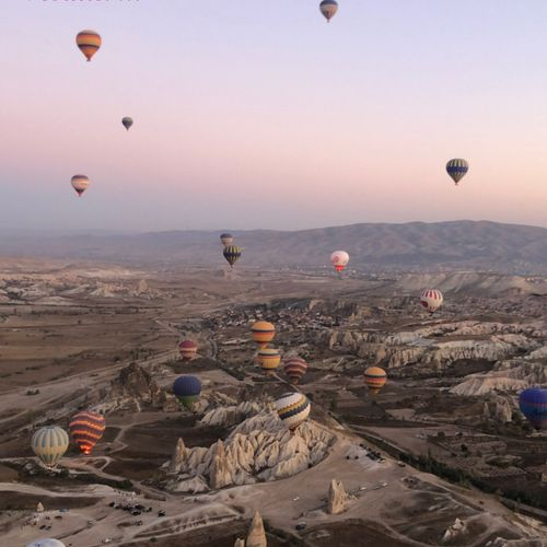 Life is like a Balloon. (Cappadocia)