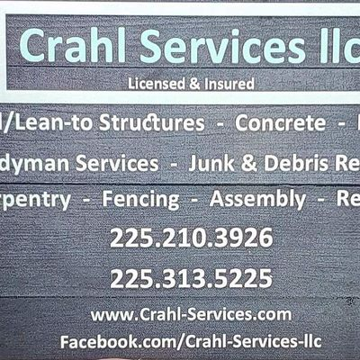 Avatar for Crahl Services llc
