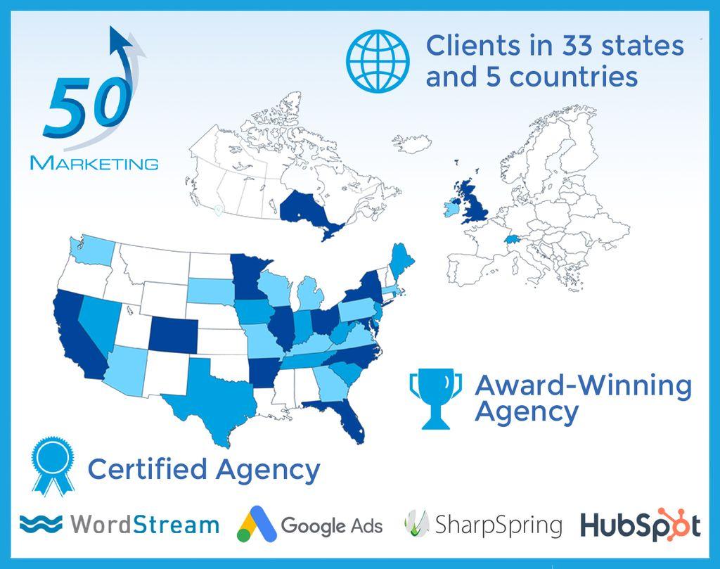 50 Marketing Award-Winning Agency