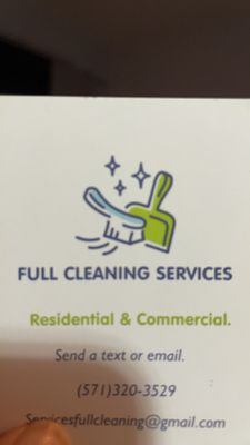 Avatar for Full Cleaning Services