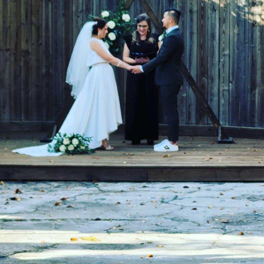 Mr and Mrs Santa Marias Wedding