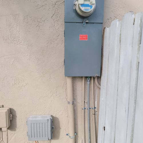 New Meter main combo installment in Pembroke Pines FL