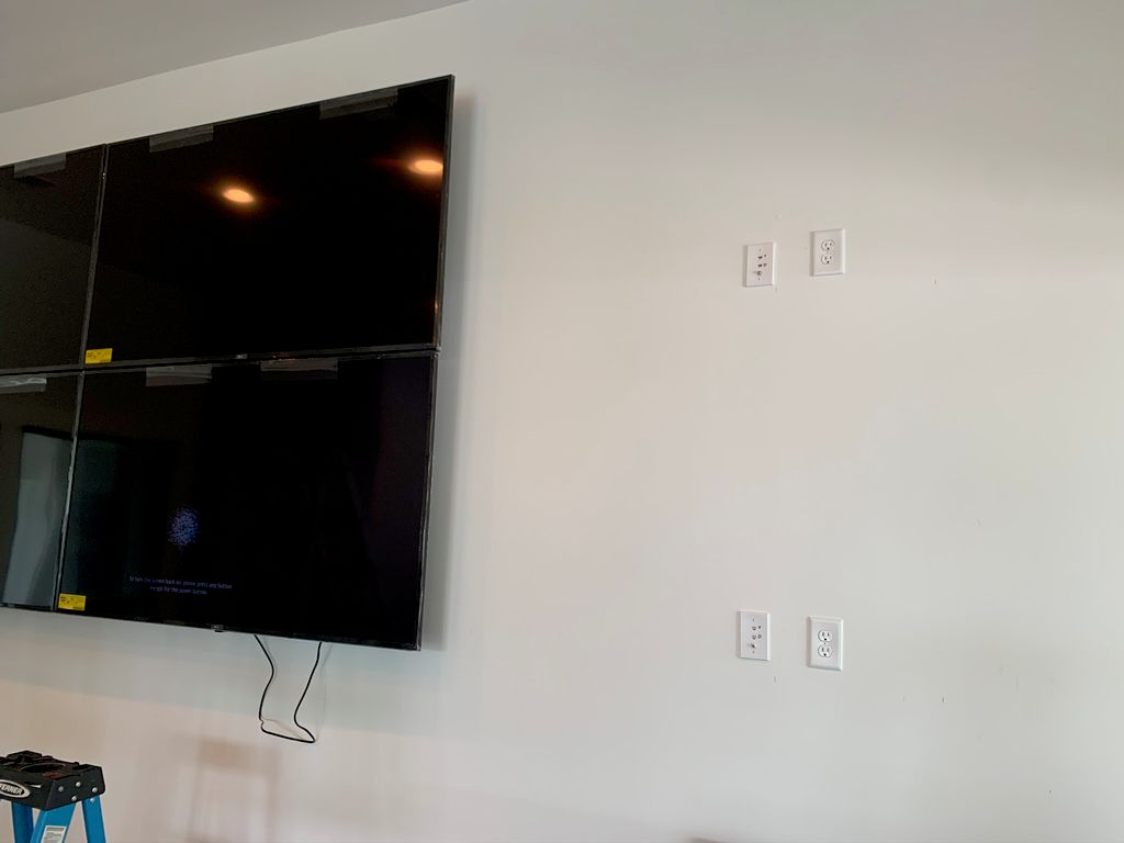 Business Display Wall Mounting