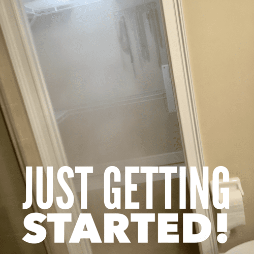 Treating a Master Closet for Mold in Largo