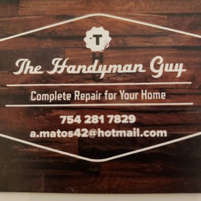 Avatar for The Handyman Guy