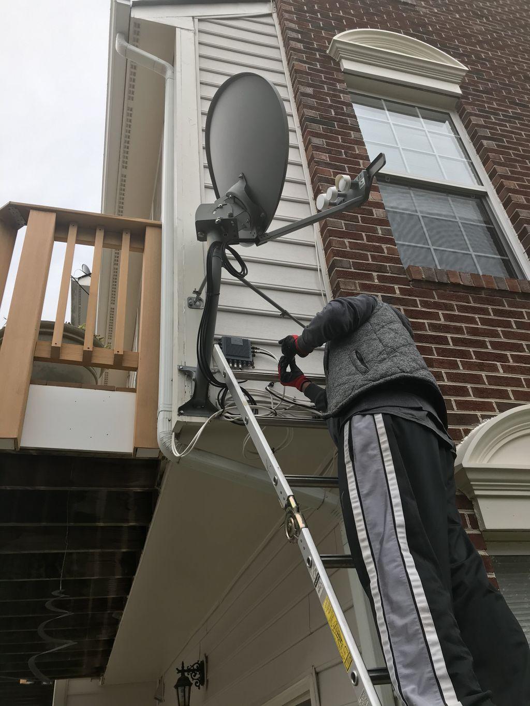 Satellite removal
