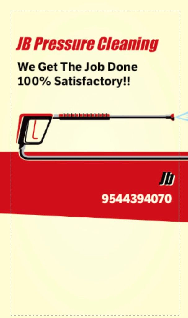 JB pressure Cleaning Services