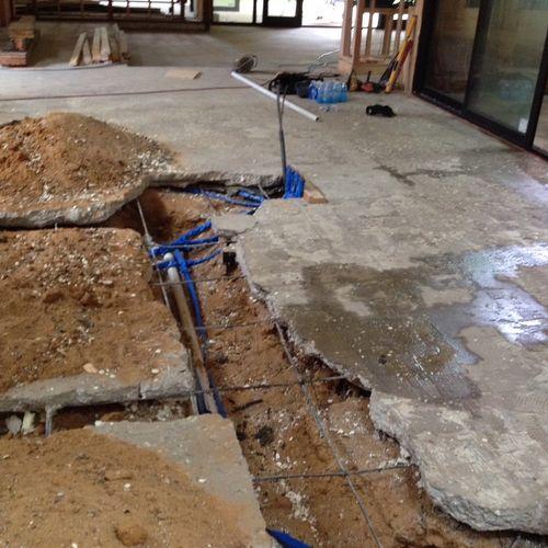 Plumbing (Kitchen)