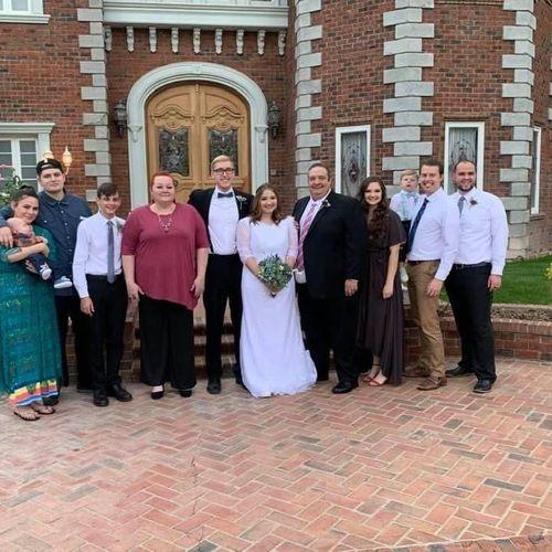 Daughter's wedding 10/20