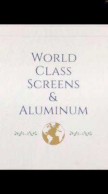 Avatar for World Class Screens & Aluminum