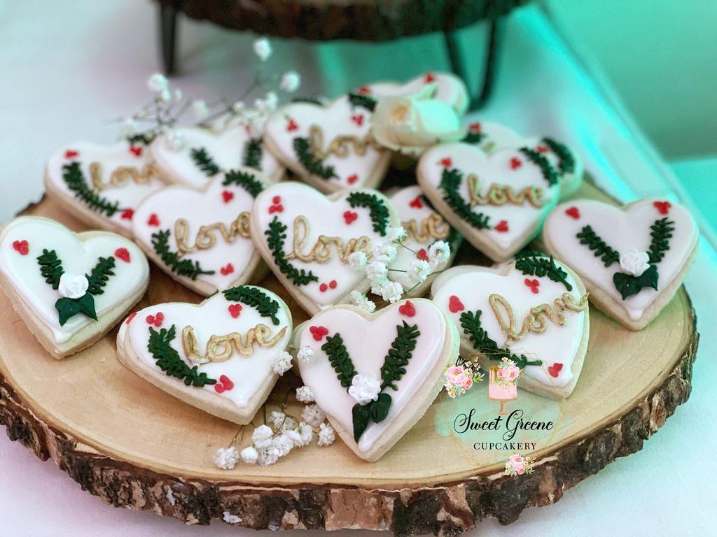 Holiday Wedding & Dessert Bar