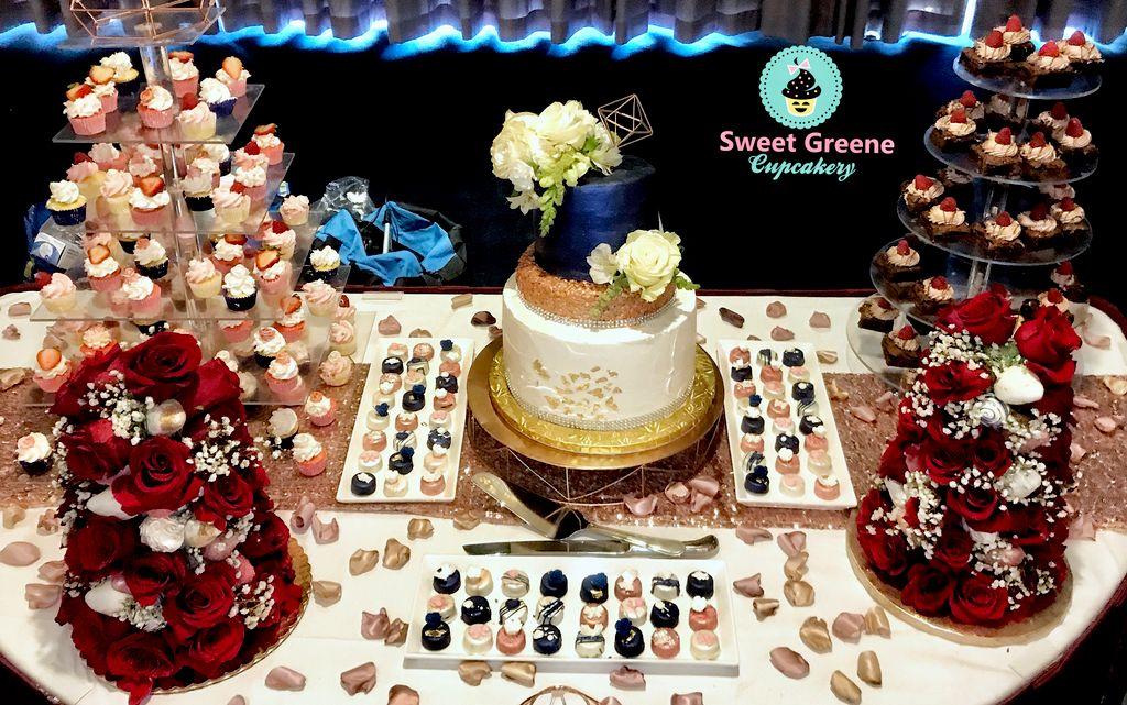 Custom Wedding Dessert Table