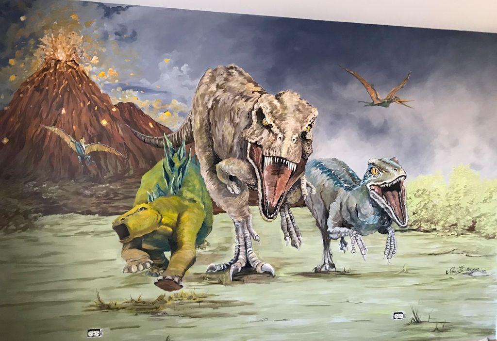 Tristans Dinosaurs