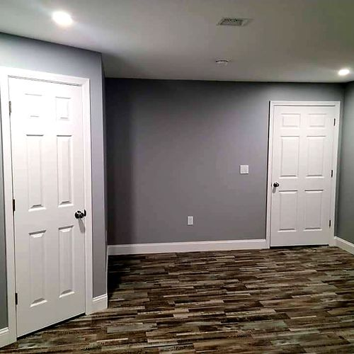 Home Theater Room AFTER