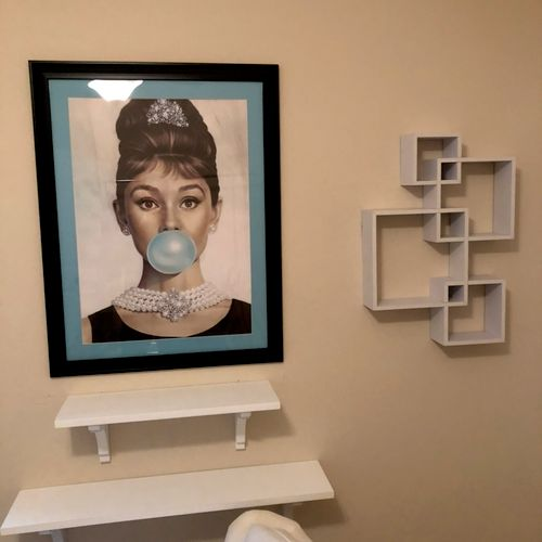 Shelves & Picture hanging