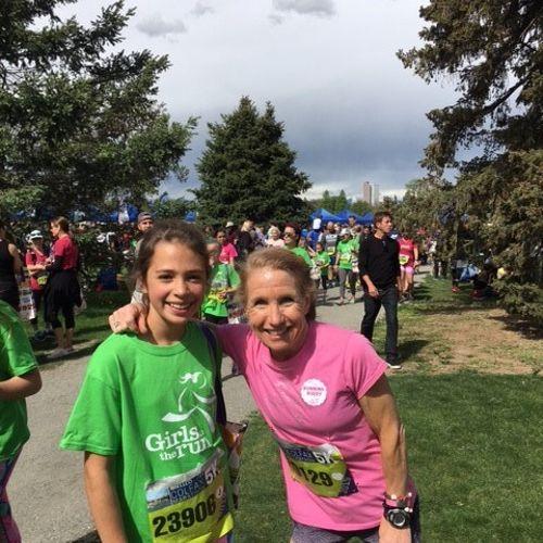 Coaching Girls on the Run! So fun!