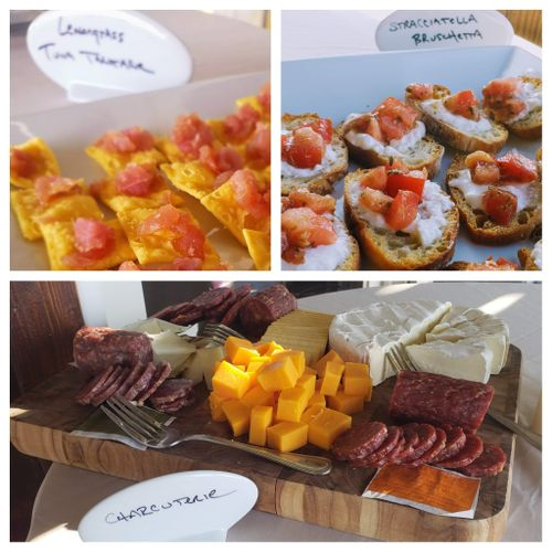 Casual Wedding Hors d'oeuvres