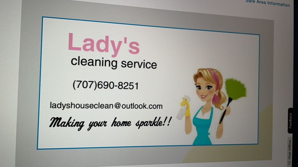 Lady's House clean