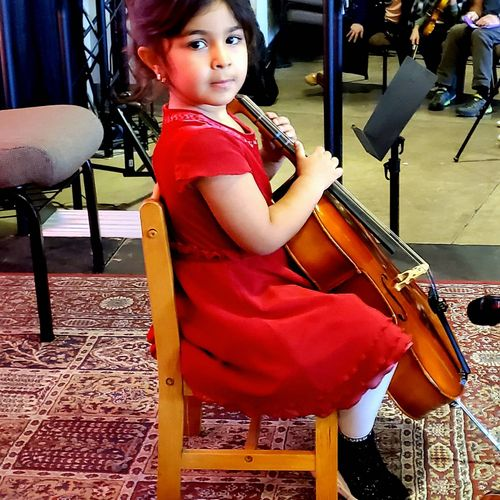 Ready to perform at 2020 recital