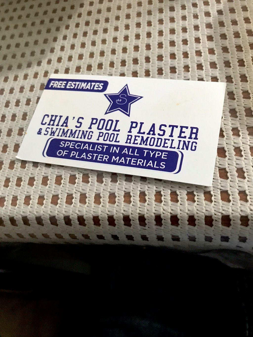 Chias Pool Plaster