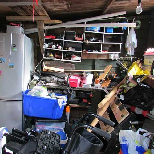 Garage/shed cleanouts