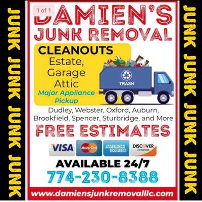 Avatar for Damien's Junk Removal L.L.C