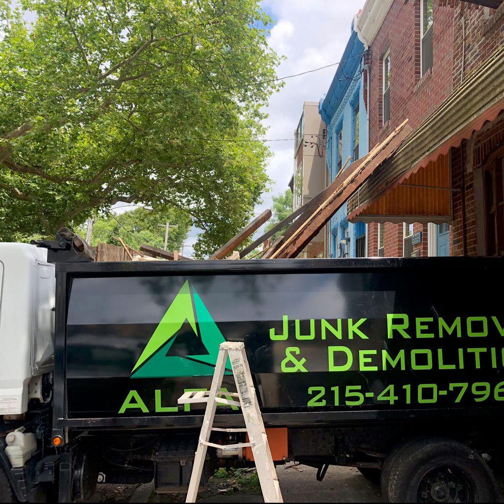 Alfa1 Junk removal & Demolition