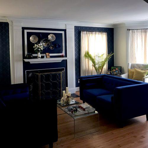 Detroit Residence - Living Room