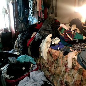 Wardrobe Closet Clean Out and Organization