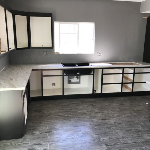 Progress kitchen remodeling