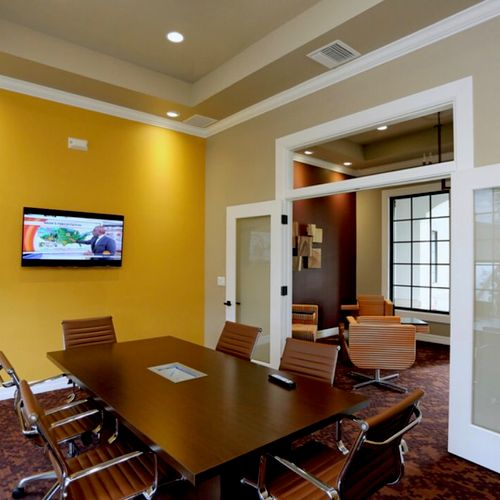 Office Interior Painting-Color Change
