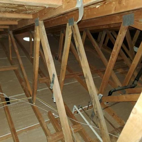 Attic Cleaning Insulation Removal