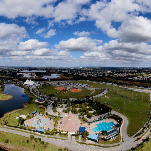 Aerial Photography Regional Park