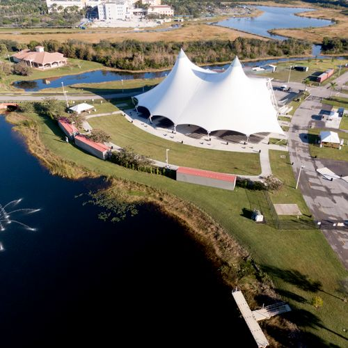 Aerial Photography Ampthitheater