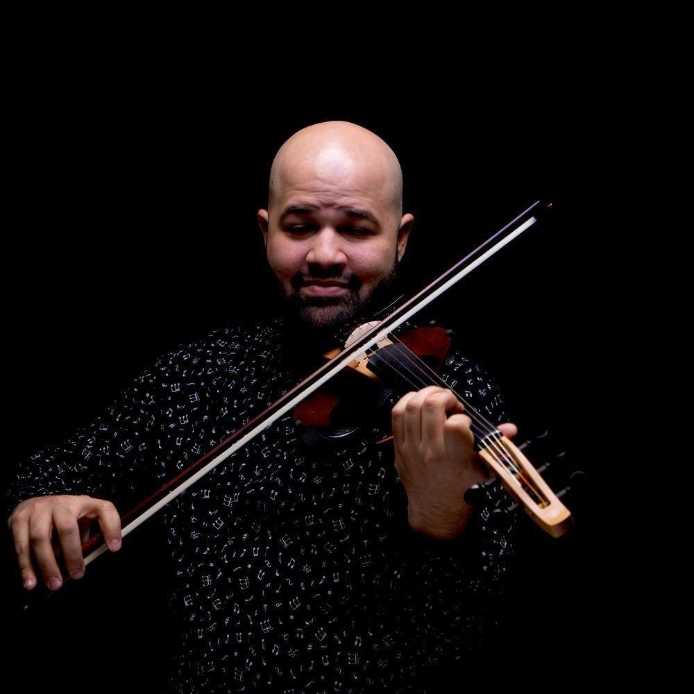Teal Violin