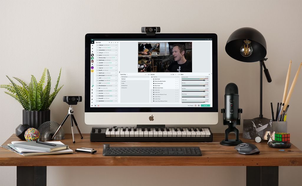 Setup computer for Live Streaming