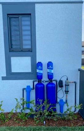 Supplied & Installed Water Filtration Whole Home Installation