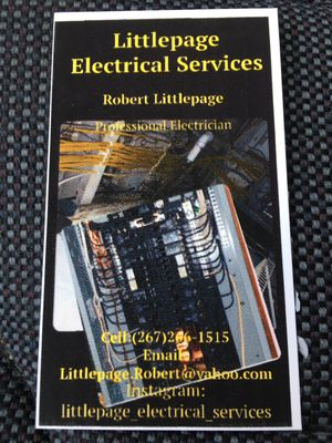 Avatar for Littlepage_electrical_services