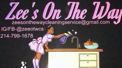 Avatar for Zee's on the way cleaning service