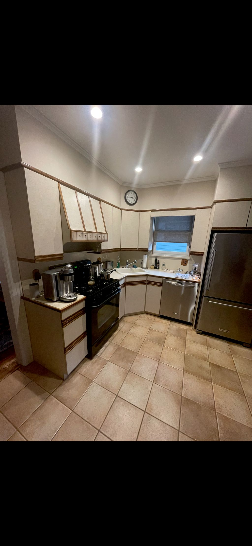 Cabinets and tiles  epoxy painting