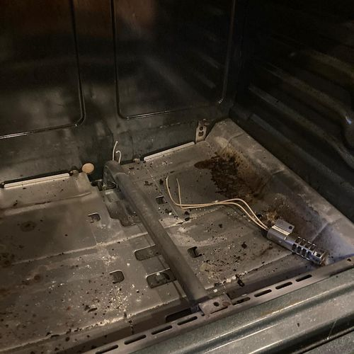 GE stove igniter replacement