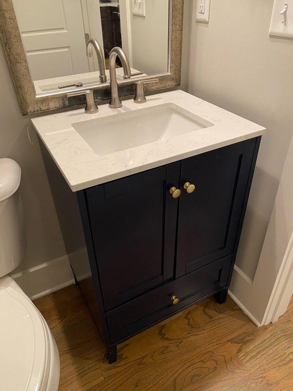 Vanity & Mirror Install