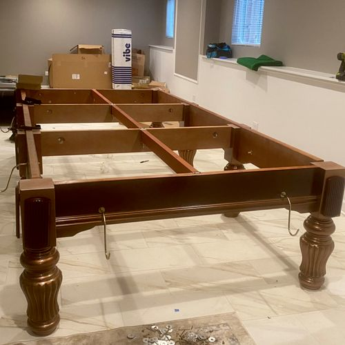 Snooker Table (Before)